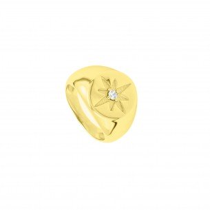 Anillo Polar Star Maxi Gold